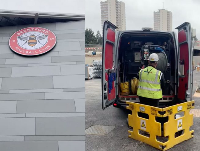 drain surveys for Brentford Football Club
