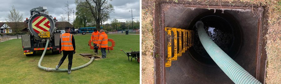 Drain Clearance in Dunstable