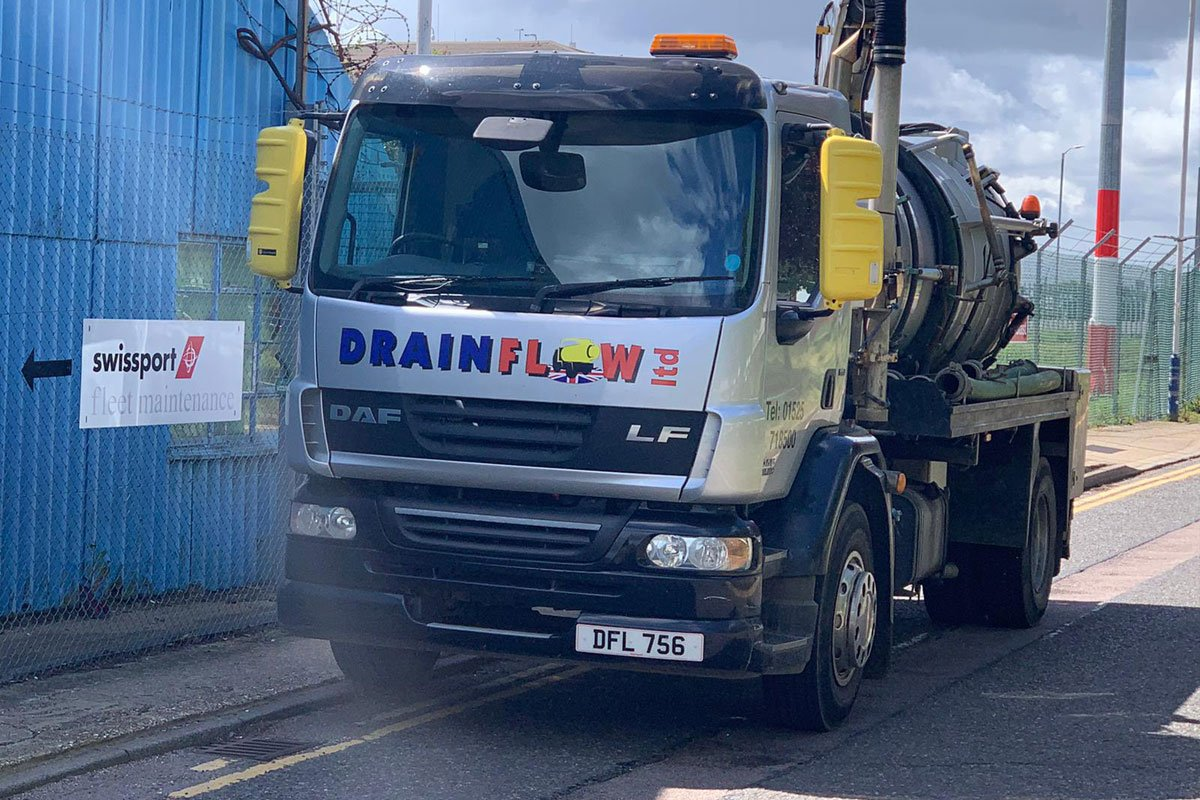 Wet Well Cleaning at London Luton Airport